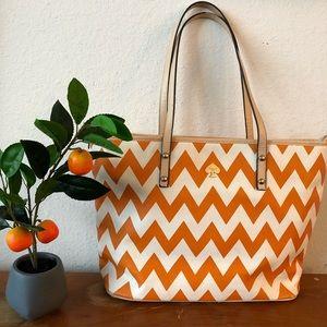 Kate Spade South of the Border Orange Tote Bag
